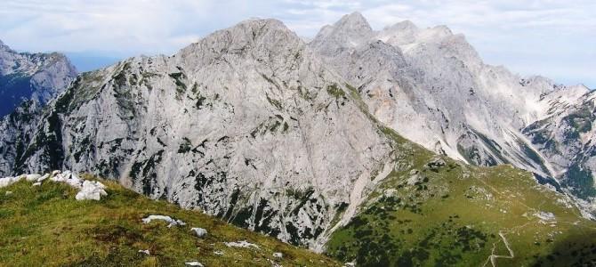 25.8.2019  Pohod Jermanca-Pri studencu-(čez Kaptana)-Brana(2253m)-Kamniško sedlo-Jermanca